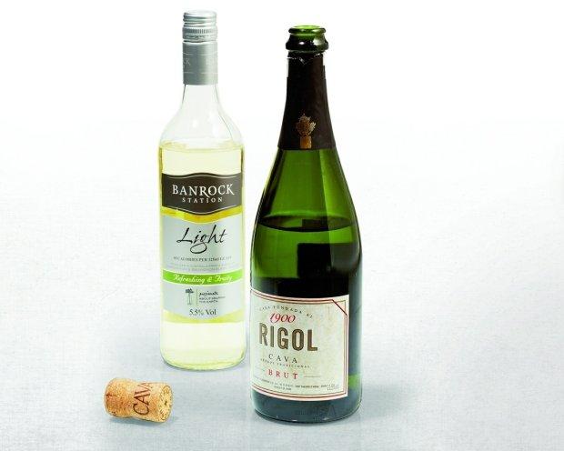 białe wina