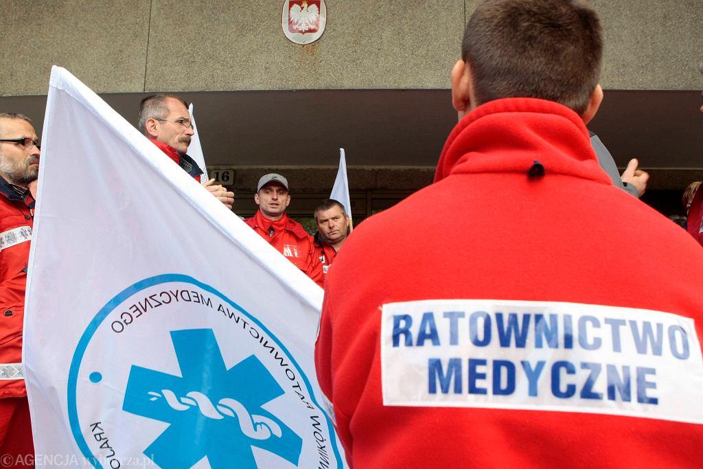 Protest ratowników medycznych z 2009 r.