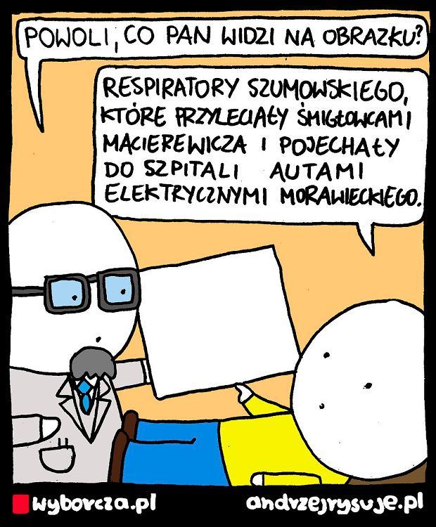 Andrzej Rysuje   RESPIRATORY - Andrzej Rysuje   20 czerwca 2020 -