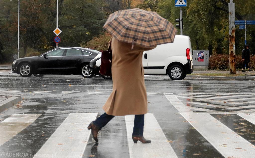 Ostrzeżenia IMGW przed burzami i deszczem (zdjęcie ilustracyjne)