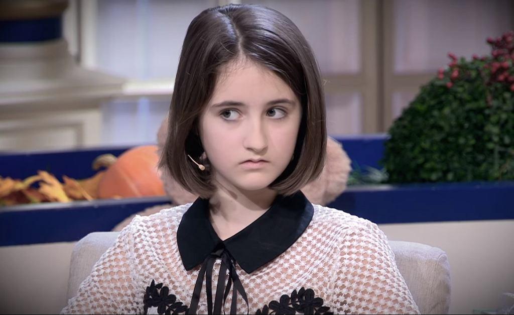 12-letnia Anastazja musi się bronić po swoim wystąpieniu w publicznej telewizji