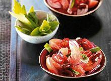 Czerwona sałatka z chilli - ugotuj