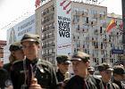 """""""Wolna Warszawa bez faszyzmu"""". Baner z takim hasłem pojawił się przy rondzie Dmowskiego"""