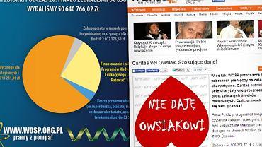 """Rozliczenia WOŚP wywołują kontrowersje na stronie """"Frondy"""""""