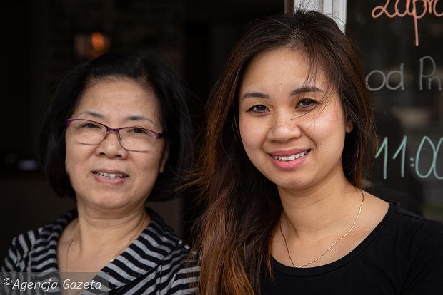 Шеф-повар Нгуен Ань и владелец вьетнамского ресторана Mr Bun Vu Linh