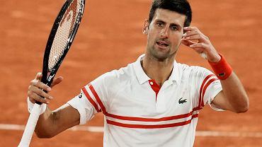 Gdzie i o której oglądać finał French Open? Novak Djokovic - Stefanos Tsitsipas [TRANSMISJA]
