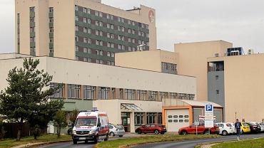 Budynek szpitala wojewódzkiego w Rybniku