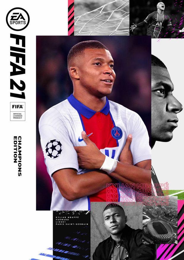 Okładka FIFA 21