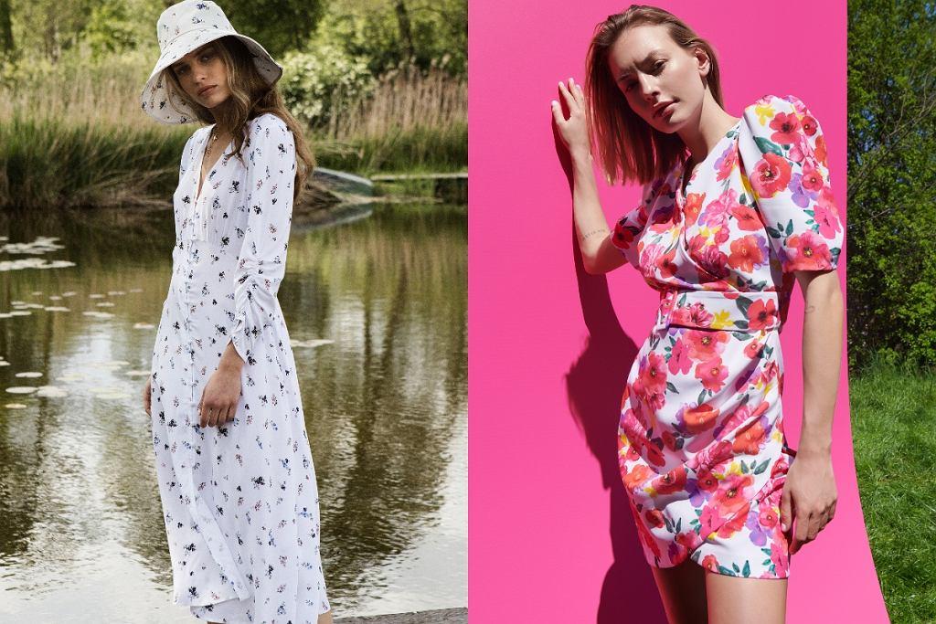 sukienki na lato z sieciówki