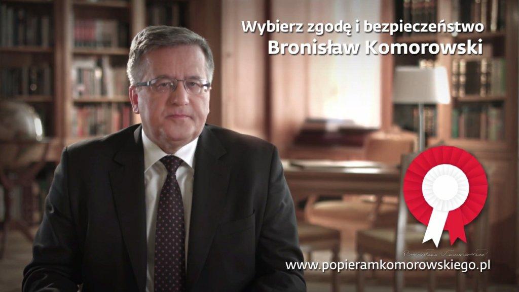 Nowy spot wyborczy Bronisława Komorowskiego