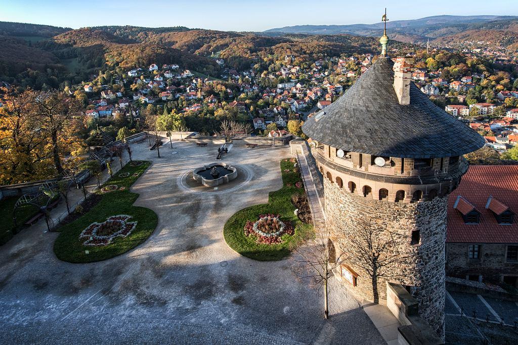 Widok z zamku Wernigerode
