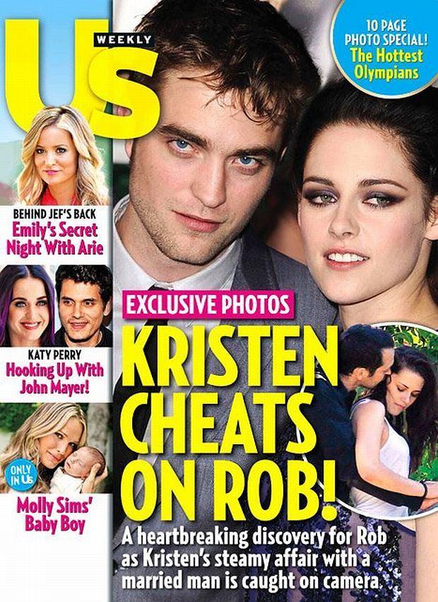 Kristen Stewart, Robert Pattinson.