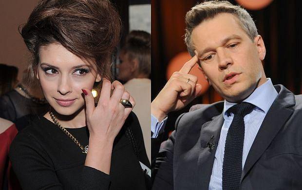 Klaudia Halejcio i Michał Żebrowski