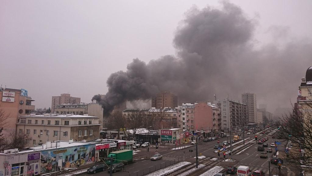 Pożar na Racławickiej