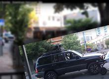 USA: Pijany na skuterze kontra wściekły w Toyocie Land Cruiser [WIDEO]