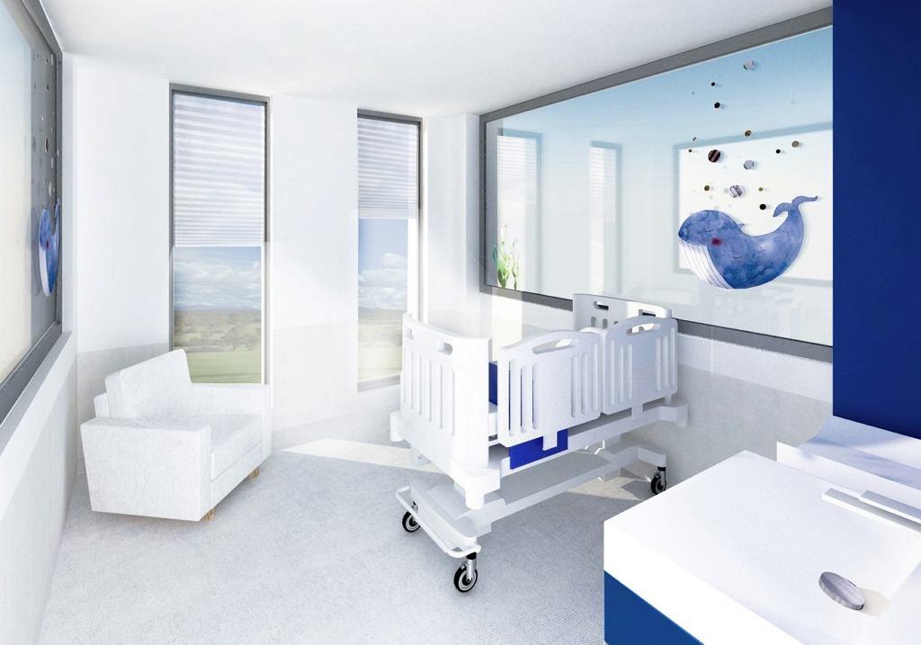 Projektanci z Gdańska skończyli już pracę nad projektem najnowocześniejszego szpitala pediatrycznego w Polsce. Na wizualizacjach można zobaczyć jak będzie wyglądał nowy szpital dziecięcy