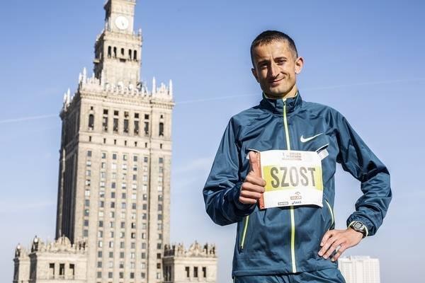 Henryk Szost, gwiazda Orlen Warsaw Marathon