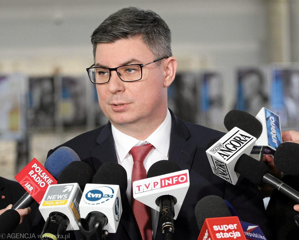 Rzecznik klubu PO Jan Grabiec