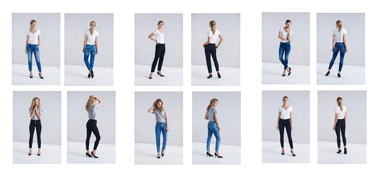 jeansy MOHITO
