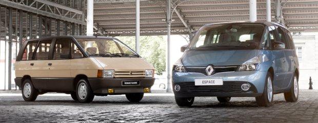 Renault Espace I i IV generacji