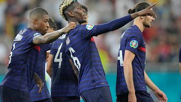 Paul Pogba strzela na 3:1 w meczu ze Szwajcarią na Euro 2020.