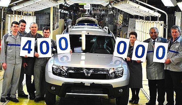 Dacia Duster numer 400 000
