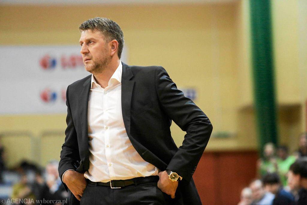 Trener Trefla Darius Maskoliunas