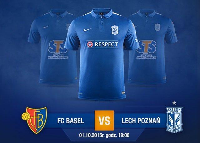 W takich koszulkach Lech Poznań zagra z FC Basel