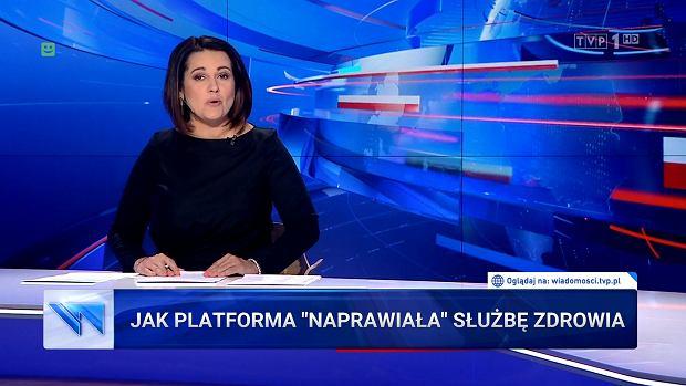 """""""Wiadomości"""" TVP. Jak PiS ocali służbę zdrowia"""