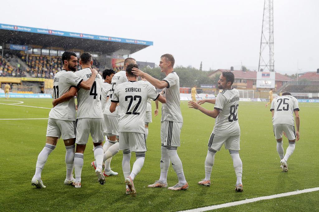 Legia Warszawa w meczu z Bodo/Glimt