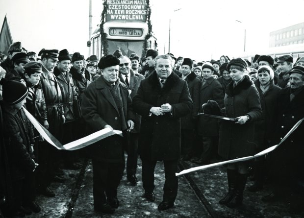 Otwarcie linii tramwajowej na Tysiącleciu