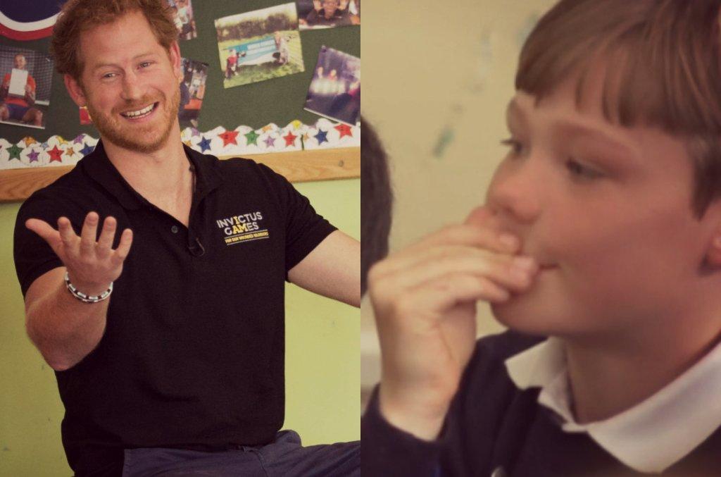 Książę Harry w szkole