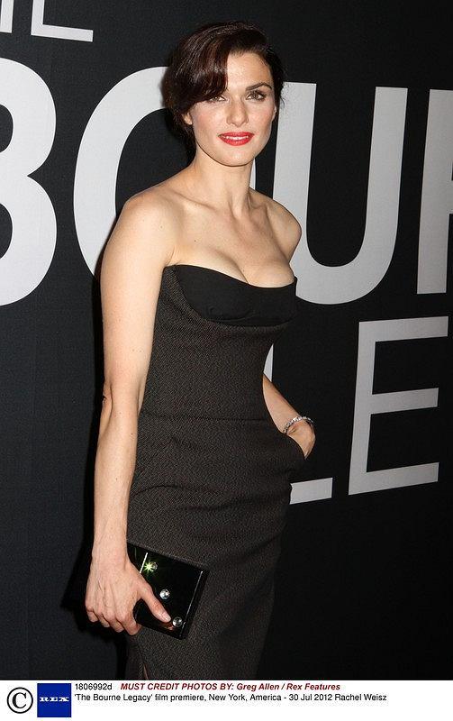 Mandatory Credit: Photo by Greg Allen / Rex Features (1806992d)  Rachel Weisz  'The Bourne Legacy' film premiere, New York, America - 30 Jul 2012