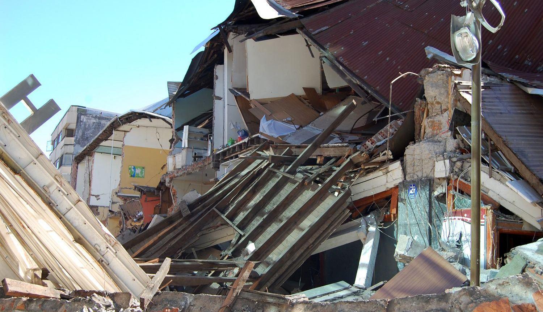 Skutki trzęsienia ziemi w Chile (fot. Shutterstock)