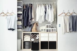 Porządek w garderobie - wieszaki i szafy