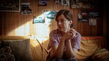 Agata Kulesza jako Teresa Klemańska w filmie '25 lat niewinności. Sprawa Tomka Komendy'