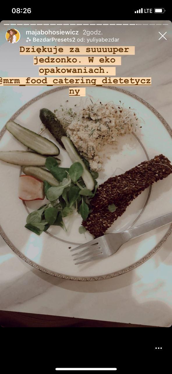 Tak wygląda dieta Mai Bohosiewicz