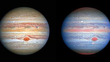 Jowisz i Europa w obiektywie Teleskopu Hubble'a