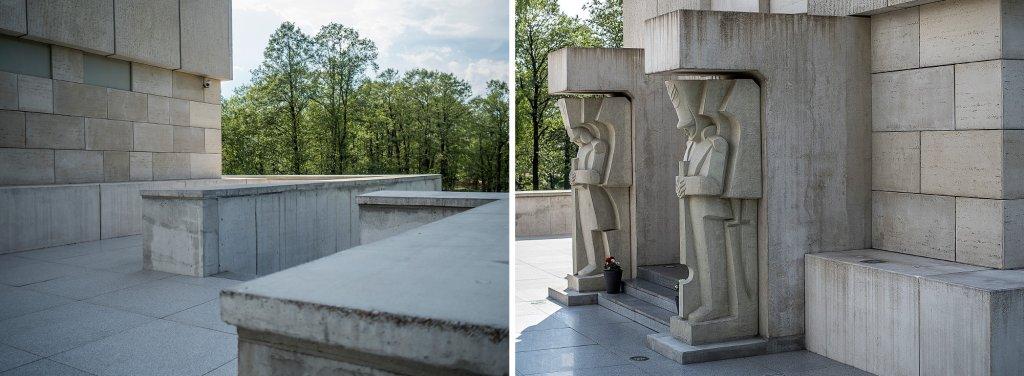 Prace nad dokończeniem mauzoleum po kilkudziesięcioletniej przerwie rozpoczęły się w 2009 roku (fot. Filip Springer)