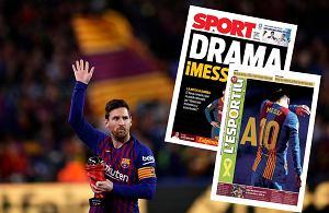 Hiszpańskie media piszą o Messim. Szok, to mało powiedziane
