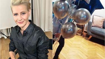 Małgorzata Kożuchowska świętuje 5. urodziny syna. Tort robi wrażenie. Przy okazji pokazała wnętrze swojego mieszkania