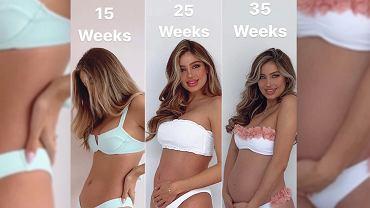 Belle Lucia - etapy ciąży