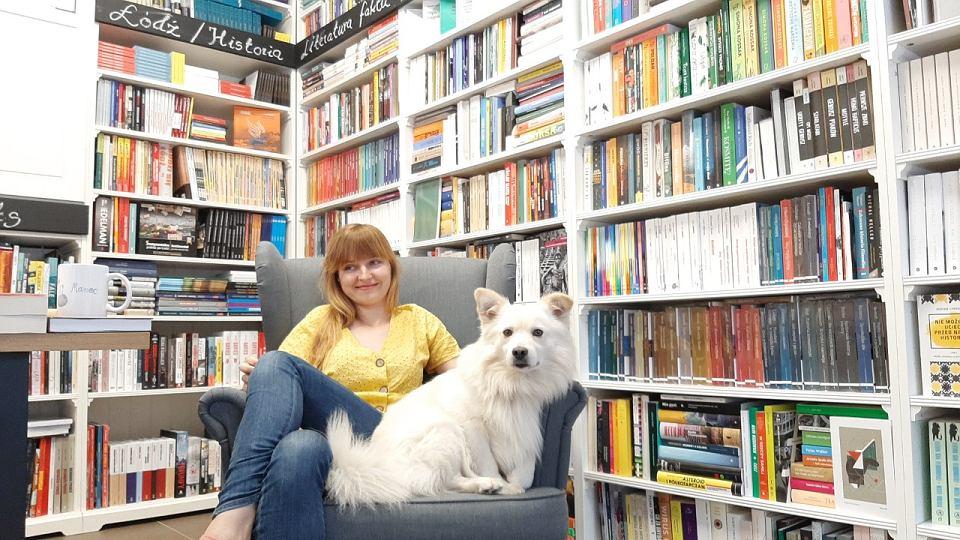 Paulina Frankiewicz z łódzkiej księgarni Do Dzieła