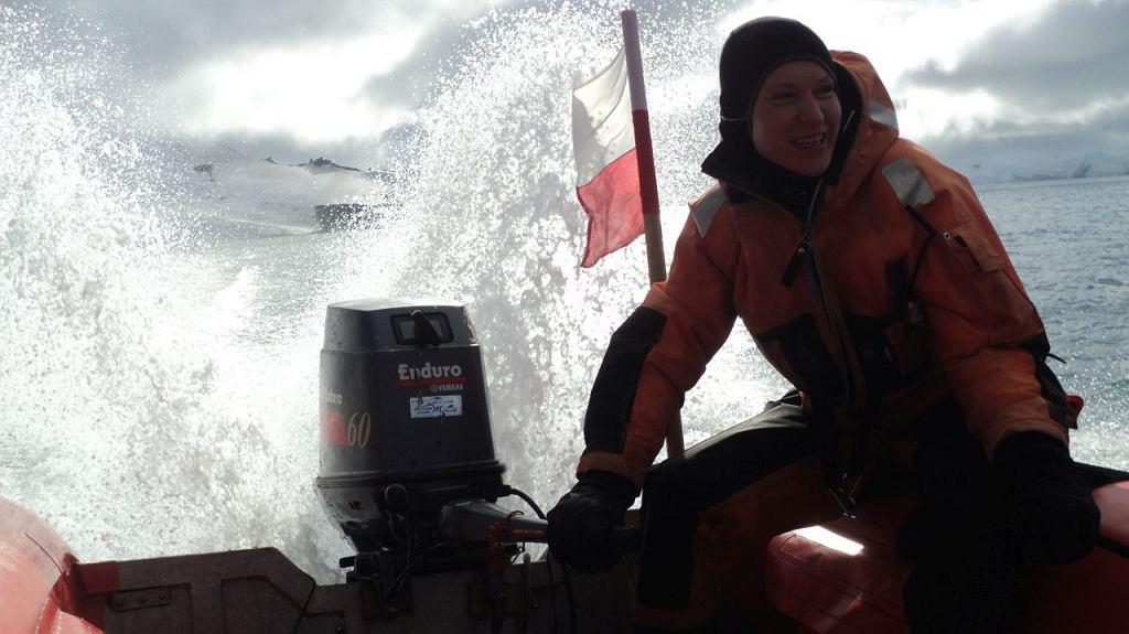 Małgorzata Witczak, kierowniczka 43. polskiej wyprawy antarktycznej