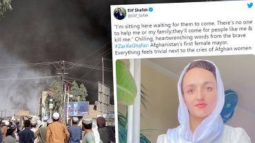Burmistrzyni Afganistanu Zafira Ghafari