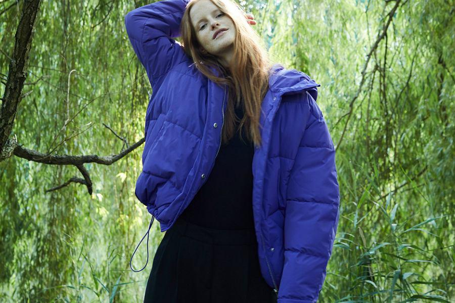 Pikowane kurtki są idealne na zimowe dni