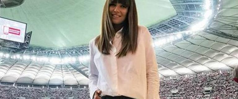 Anna Lewandowska zabrała na mecz Roberta swoich sławnych znajomych. Uwagę zwraca nowa fryzura Quebonafide