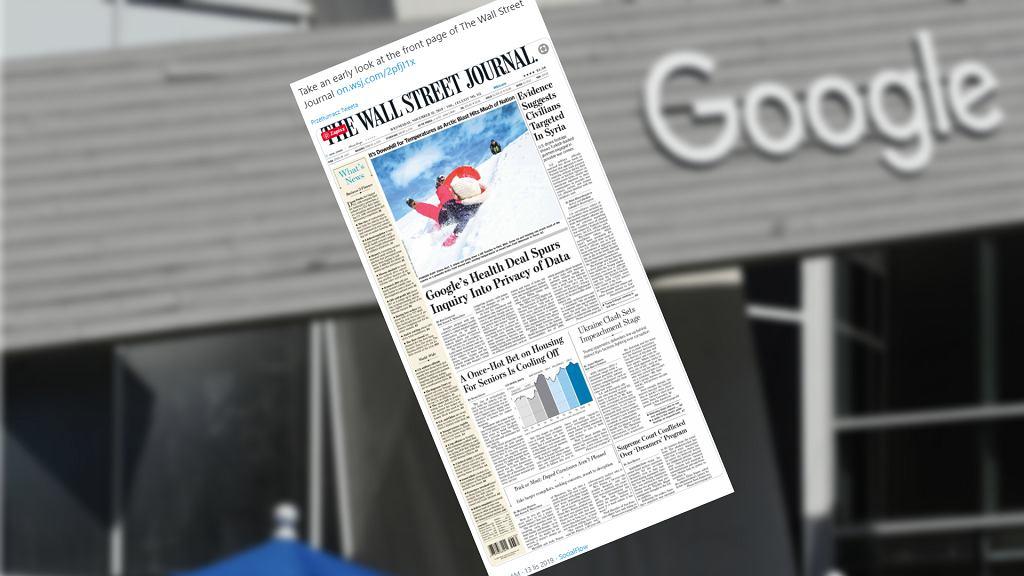Google Nightingale w Wall Street Journal