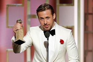 """Złote Globy 2017 - Ryan Gosling ze statuetką za """"La La Land"""" [LISTA ZWYCIĘZCÓW]"""