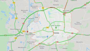 Utrudnienia po wypadku na A4 w Tarnowie.